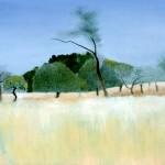 painting Ibiza 1970