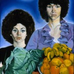 portrait of Nacy and Sharon Ibiza 1970