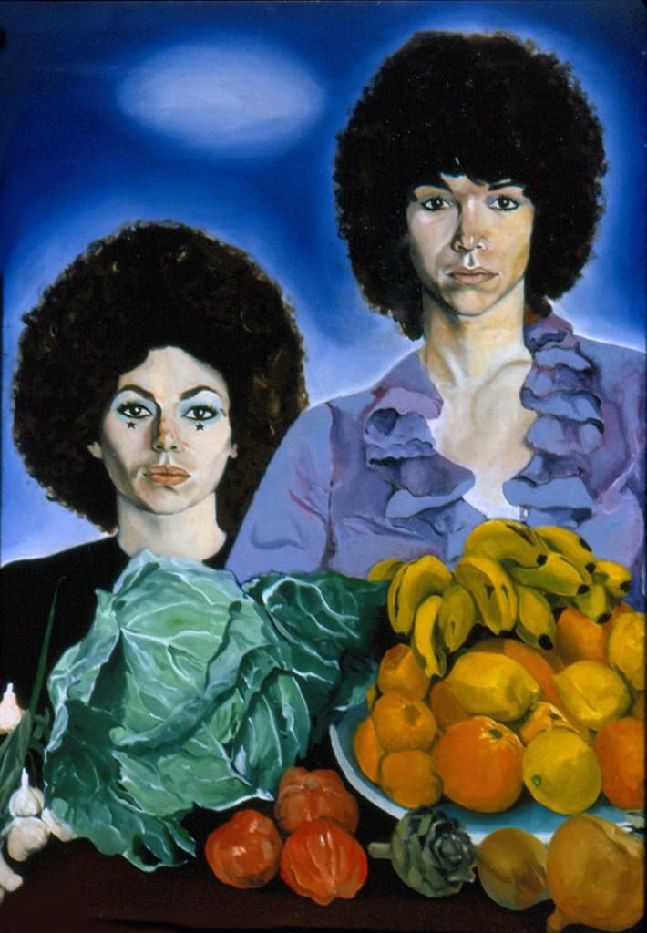 portrait of Nacy and Sharon Ibiza 1970