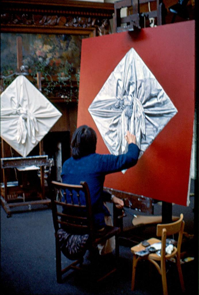 painting in Rue de Douai