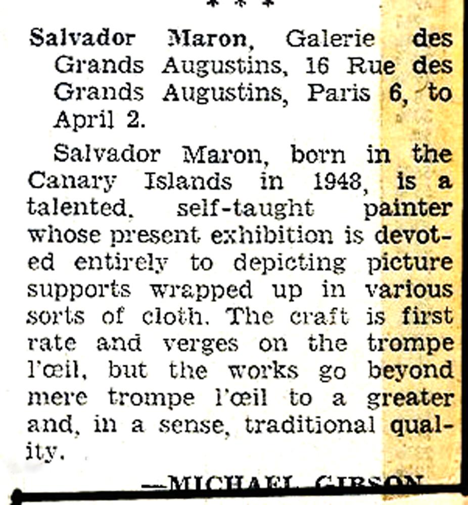 Herald Tribune Paris-exhb. critic