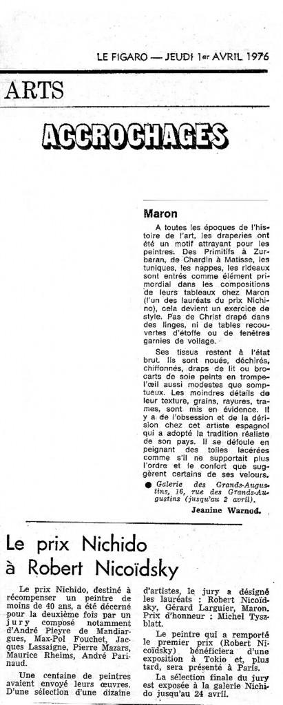 Le Figaro 1976