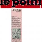critic in Le Point-Paris