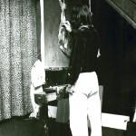 S painting the Ham 1977