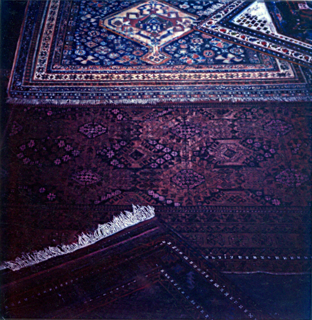 big carpet painting