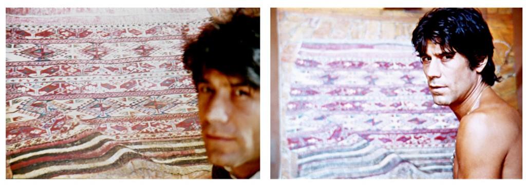 painting Fernando's carpet 1
