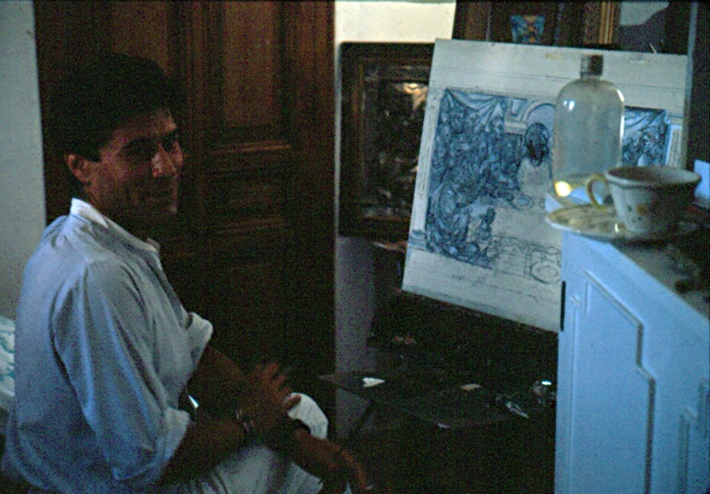 painting the last supper 1984