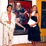 with Susie Lindberg, Marbella