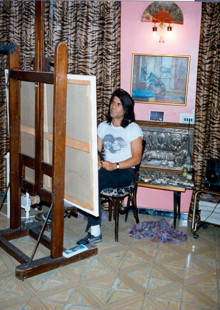 painting in Elda