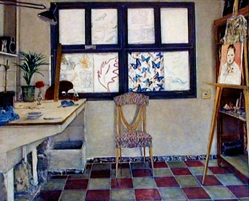 the studio in Elda
