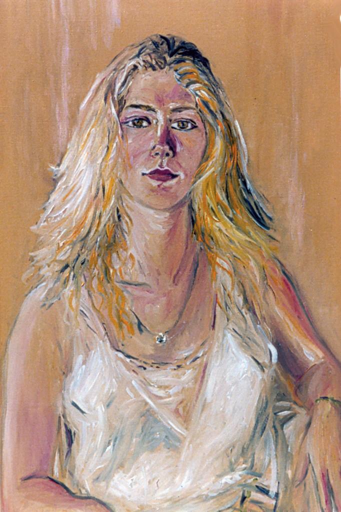17. portrait of Vedra ( detail)