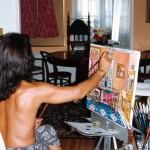 7. painting N house
