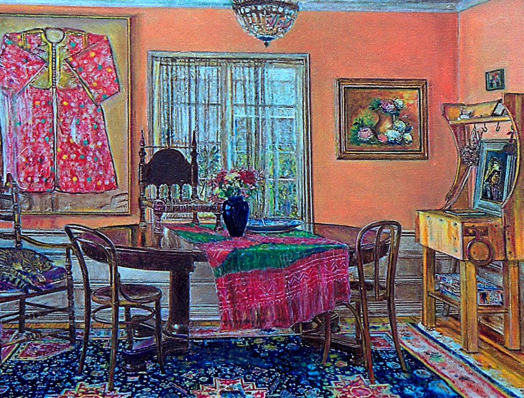 8. Nancy's house, the painting