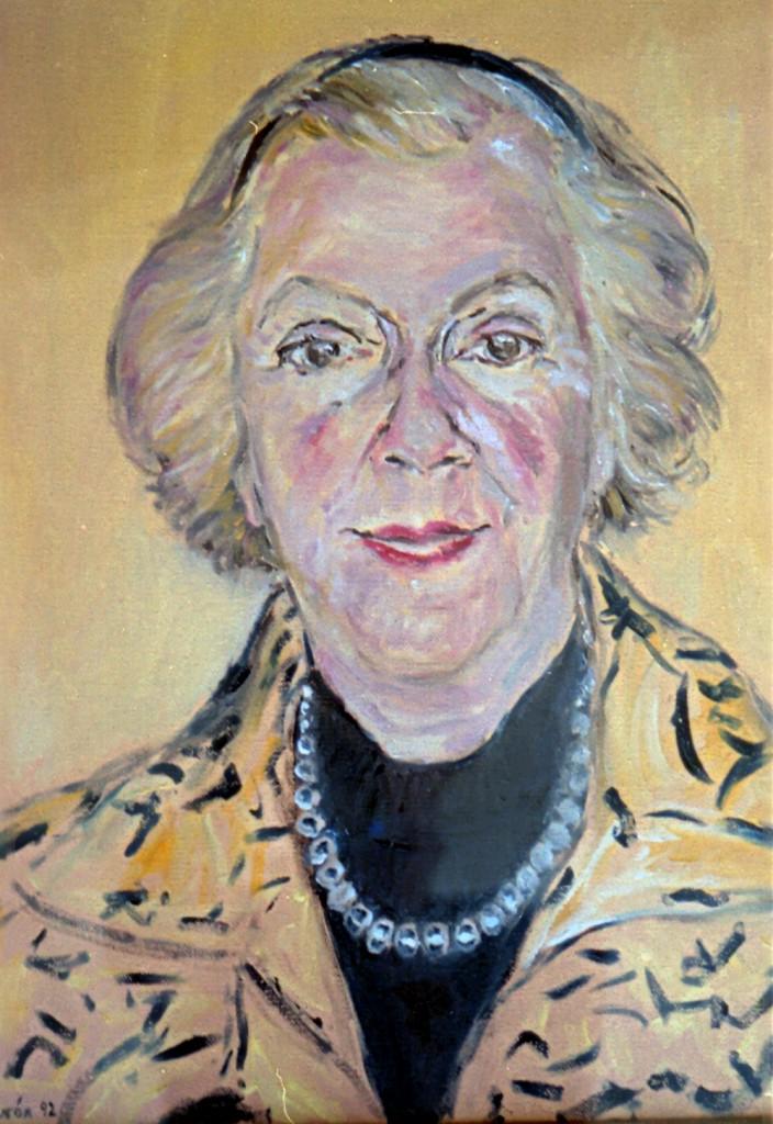 9. Florence. Nancy's mom