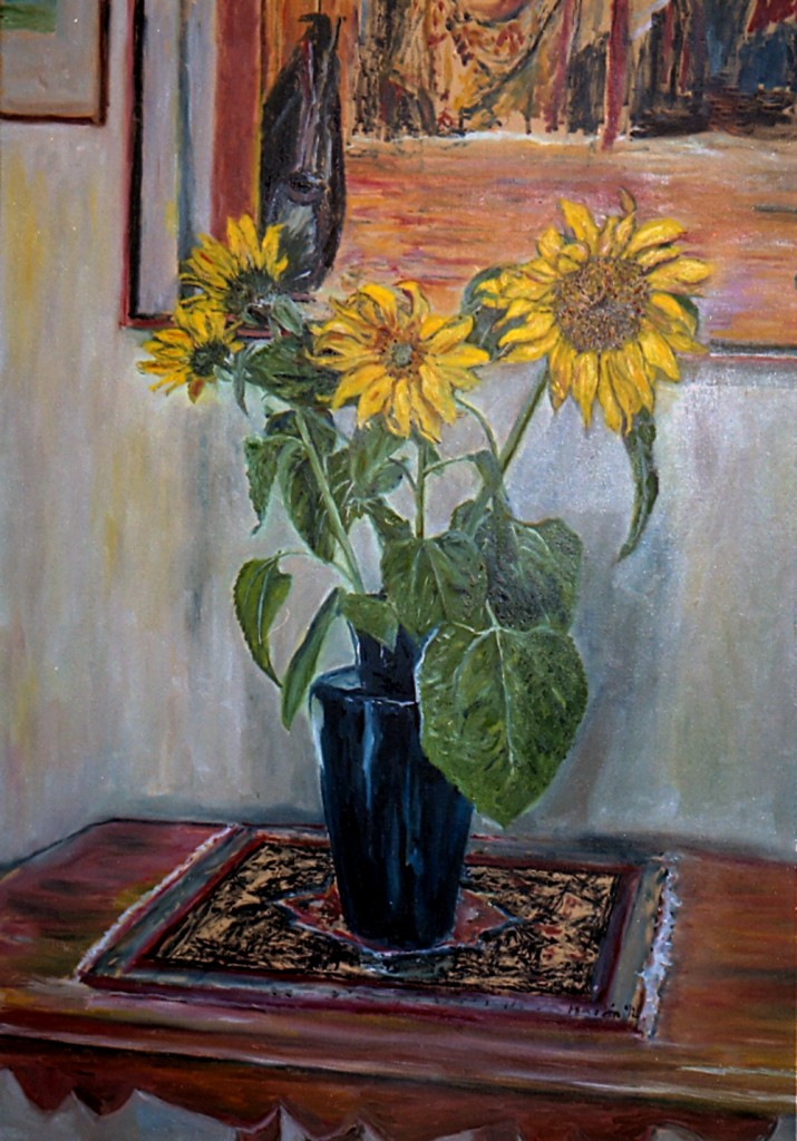 2. Nancy's sunflowers