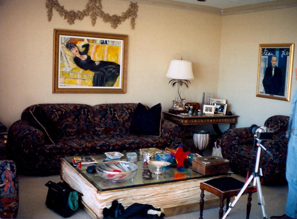 6. interior with Colleen  92 LA