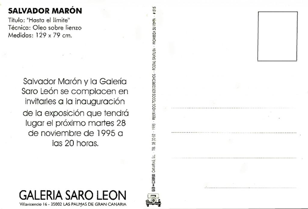 5 .Invitation  SARO LEON 96