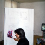 12. starting a painting