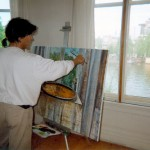 3. painting view of the Amstel
