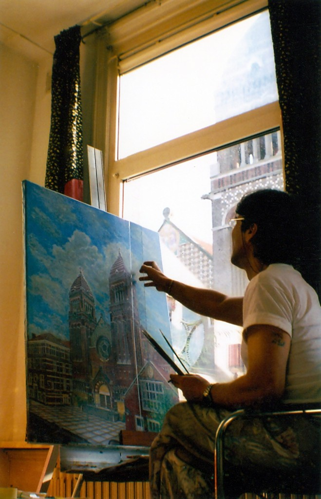 8. painting the church 2