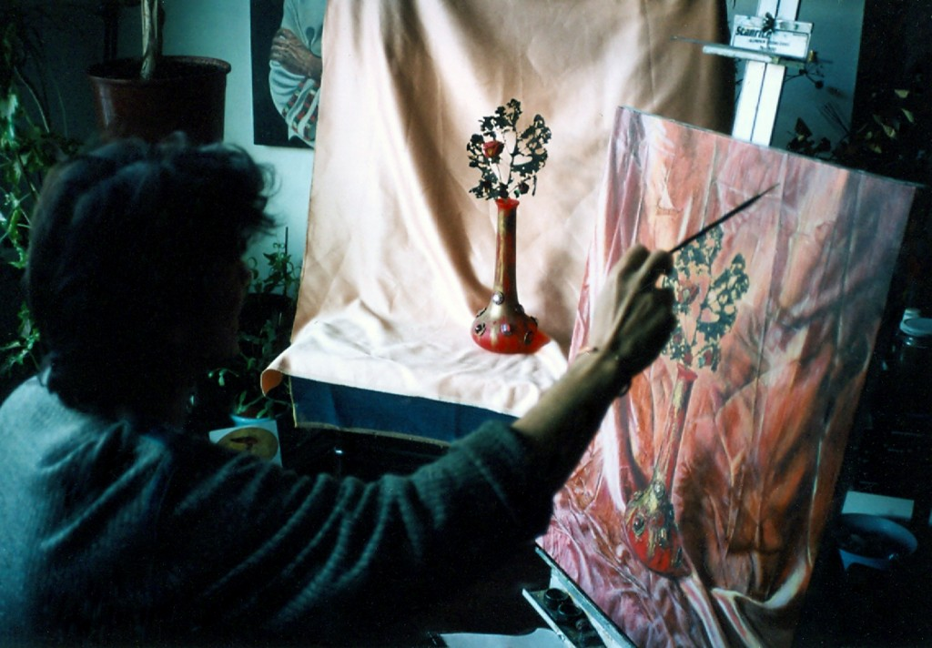 10. painting my vase