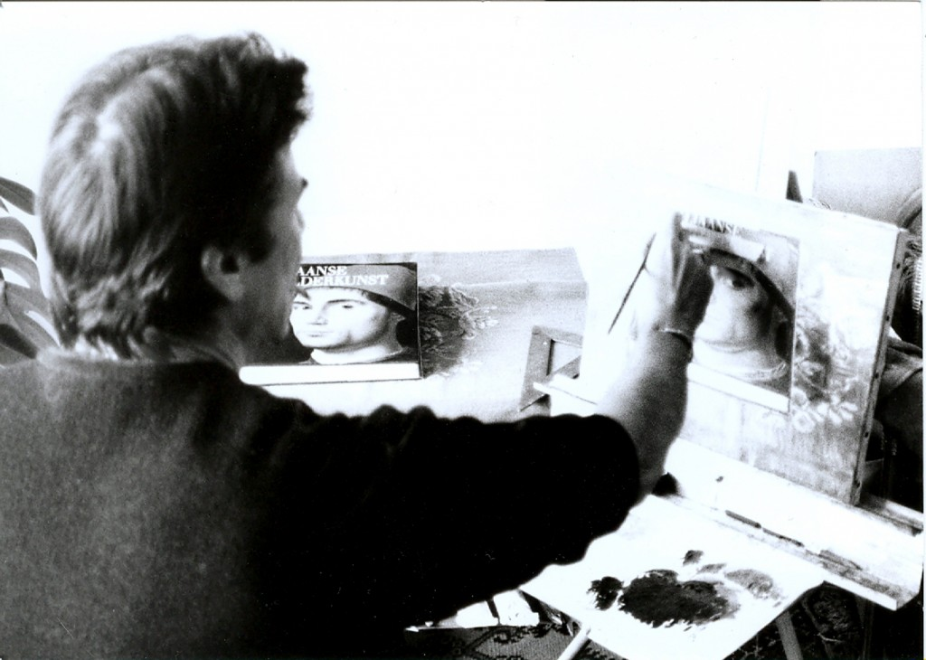 11. painting the book