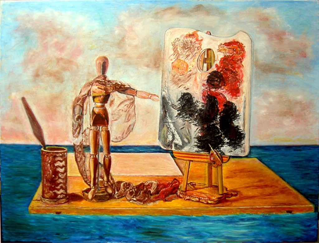 13. dream- the painters raft 1-80x60 cm