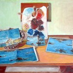 14. dream-the painters raft 2-80x60 cm