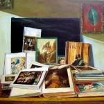 17. the books 110 x 140 cm